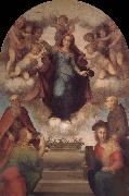Andrea del Sarto Angel around Virgin Mary oil painting picture wholesale